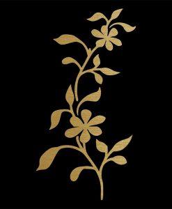 Flower Instinct gold-121