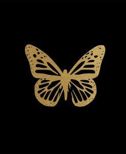 Leuconoe Butterfly gold-153