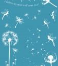 Make a wish tattoo white