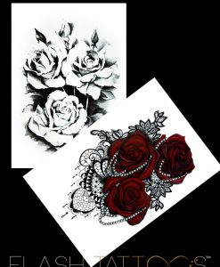 Guns and Roses BlackInk FlashTattoos Romania Tatuaje Temporare