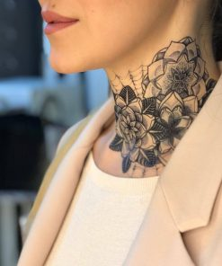 Insane Mandala Flash Tattoos Romania Black Ink Tatuaj temporar