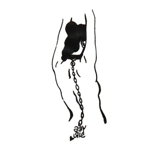 Trapped Black Ink Flash Tattoos Romania Tatuaje temporare