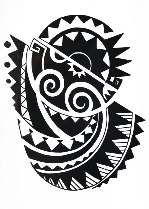 What's your tribe? FlashTattoos Romania Black Ink Tatuaj temporar