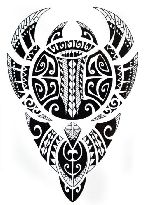 Maori Art BlackInk Flash Tattoos Romania Tatuaje temporare 2