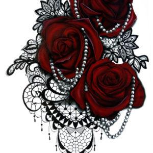 Guns and Roses BlackInk FlashTattoos Romania Tatuaje Temporare 2