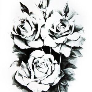 Guns and Roses BlackInk FlashTattoos Romania Tatuaje Temporare 1
