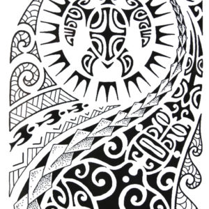 Maori Art BlackInk Flash Tattoos Romania Tatuaje temporare 1