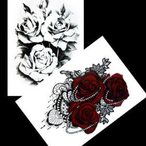 Guns and Roses BlackInk FlashTattoos Romania Tatuaje Temporare