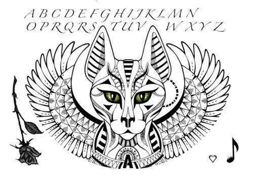 Flash Tattoos by Antonia Black Ink Tattoos 2