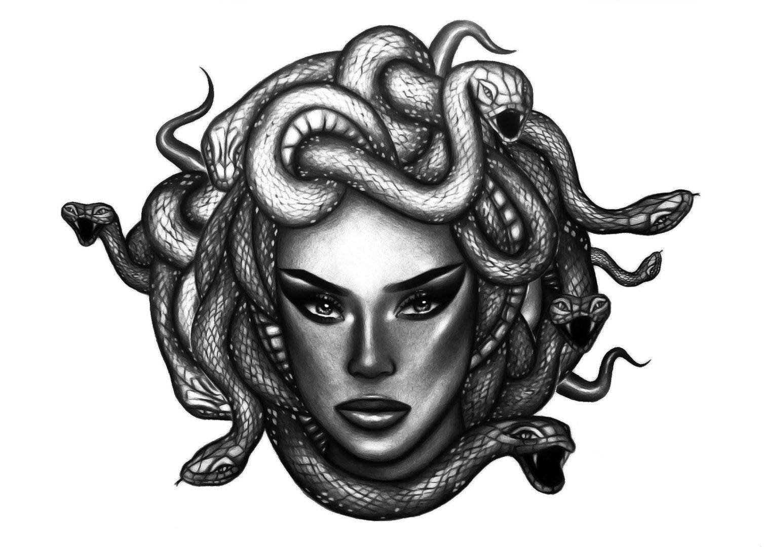 Medusa Money by Alina Ceusan - FlashTattoos™ Romania