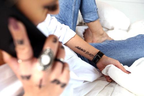 Badass by Giulia X Flash Tattoos Black Ink Tatuaje Temporare 01