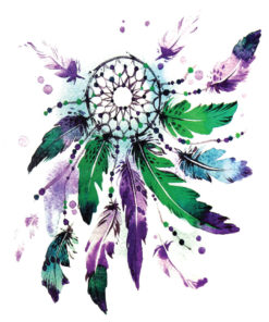 Dreamcatcher Flash Tattoos Romania Tatuaj temporar