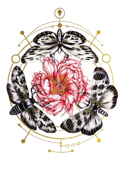 The Amazon lady Black Ink Tattoos Flash Tattoos