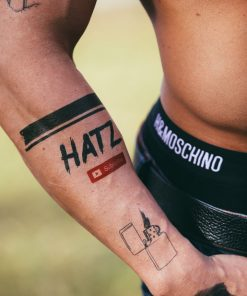 Hatz by Dorian Popa Flash Tattoos Romania Tatuaje temporare 1