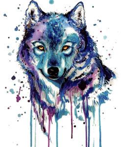 Aurora wolf FlashTattoos Romania Blackink