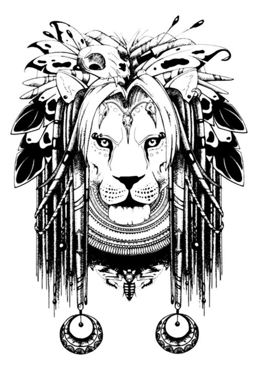 KING FlashTattoos Romania Black Ink