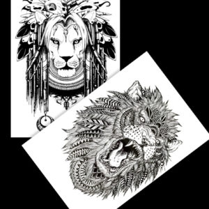 Meet the King FlashTattoos BlackInk