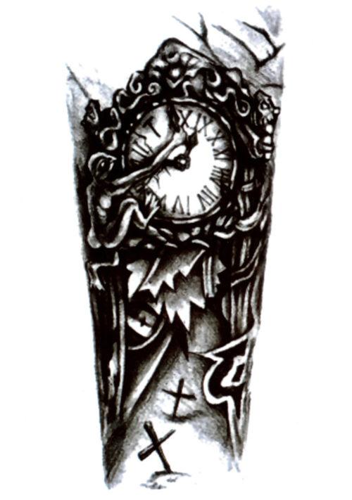 A Timeless Forearm FlashTattoos Romania Black Ink