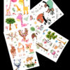 My little Zoo FlashTattoos Romania BlackInk Tattoo Tatuaje temporare