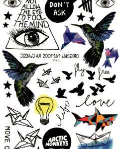 Free as a Bird FlashTattoos Romania Tatuaj Temporar