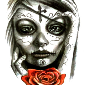 Hija de los Muertos Flash Tattoos Romania Tatuaj Temporar