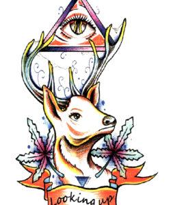 Looking Up Tatuaj temporar Flash Tattoos Romania
