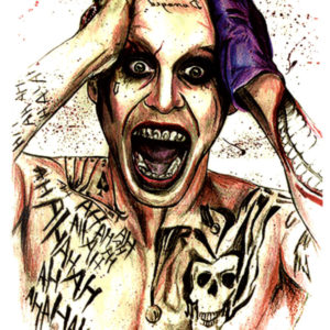 The Joker Tatuaj temporar FlashTattoos Romania