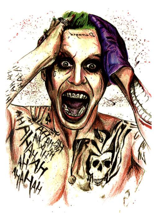 The Joker Tatuaj temporar FlashTattoos Romania