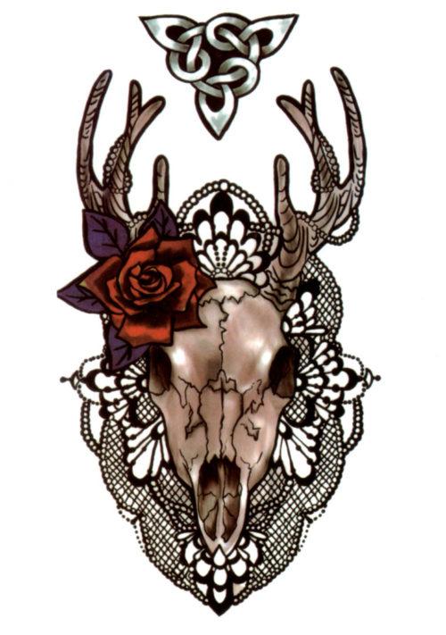 My Deer Rosie Flash Tattoos Romania Tatuaj Temporar