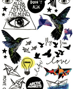 Free as a Bird FlashTattoos Romania Tatuaj Temporar