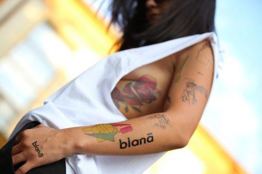 Wear it like the Gods by Blanā X Flash Tattoos Romania Black Ink Tatuaje temporare