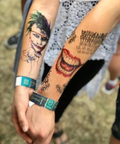 Joker Hahaha Flash Tattoos Romania