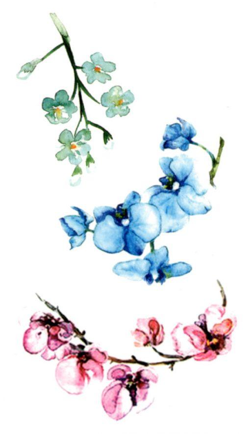Spring Poem 2 Flash Tattoos Romania Tatuaje temporare