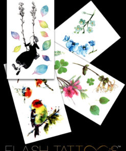 Spring Poem Flash Tattoos Romania Tatuaje temporare