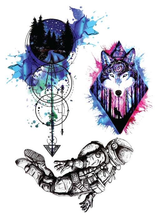Chapter 3 Black Ink Flash Tattoos Romania Tatuaje temporare