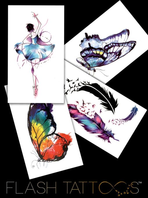 Fragile yet beautiful Black Ink FlashTattoos Romania Tatuaje Temporare