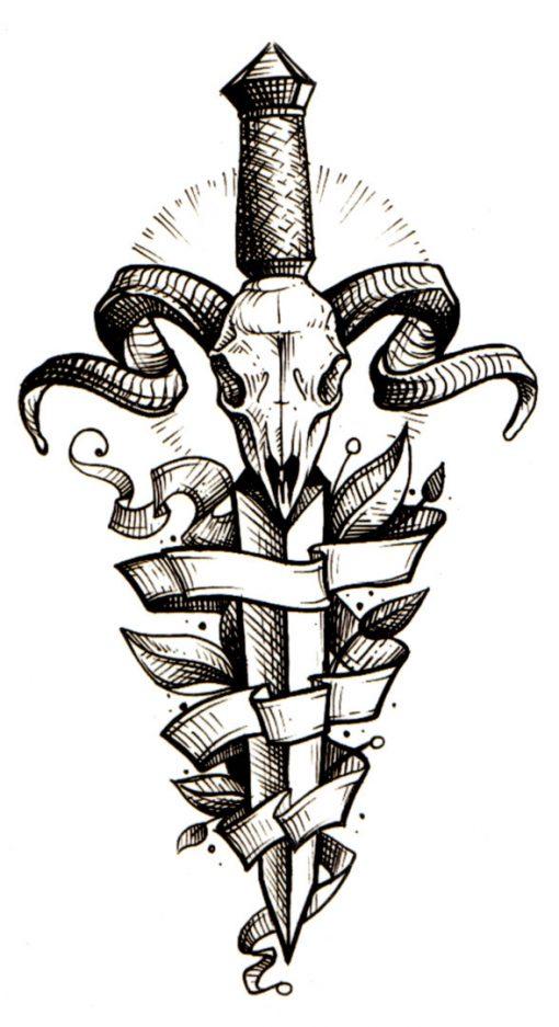 Dager Flash Tattoo Tatuaj Temporar
