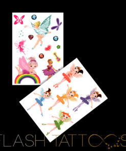 Tinkerbell and her Fairies Flash Tattoos Romania Tatuaje Temporare