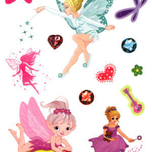 Tinkerbell and her Fairies Flash Tattoos Romania Tatuaj Temporar
