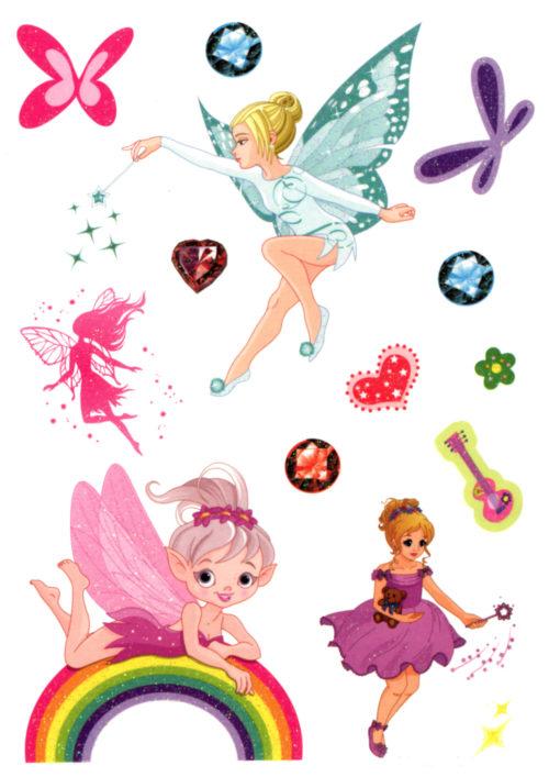 Tinkerbell and her Fairies Flash Tattoos Romania Tatuaj Temporar