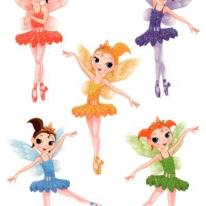 Tinkerbell and her Fairies Flash Tattoos Kids Romania Tatuaj Temporar