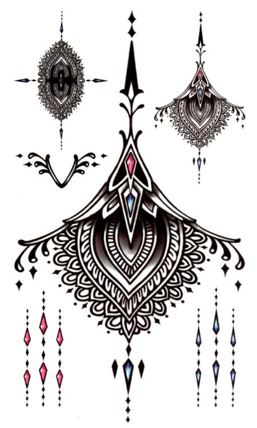 Lace me up Flash Tattoos Romania Tatuaje temporare