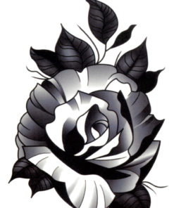 Starring: The Black Rose Flash Tattoos Romania Black Ink Tattoo Tatuaje temorare 0