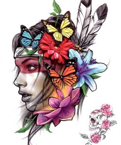 Tina Black Ink Flash Tattoos Romania Tatuaj temporar