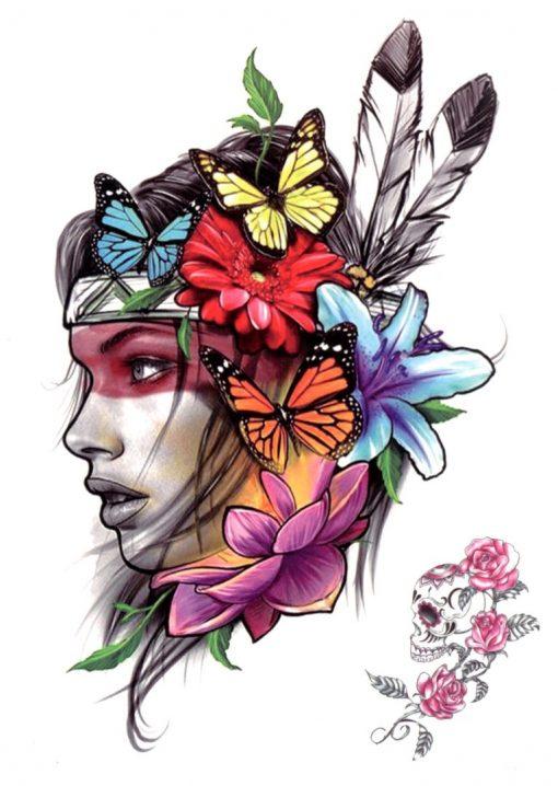 Tina Black Ink Flash Tattoos Romania Tatuaj temporar