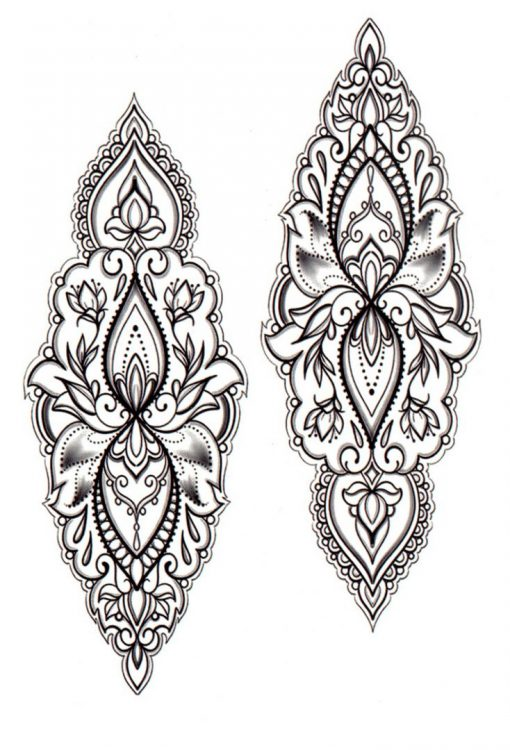 She's a wanderer Mandala Flash Tattoos Romania Tatuaj temporar