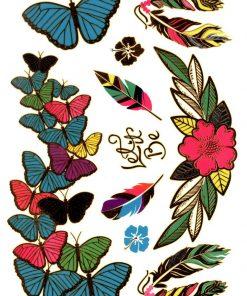 Let it be Flash Tattoos Romania Gold Tattoo
