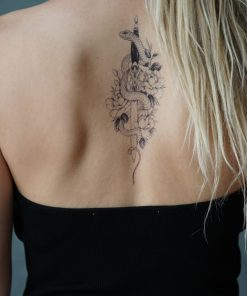 Sinner Black Ink Flash Tattoos Romania Tatuaj temporar