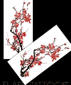 Cherry Blossoms Flash Tattoos Tatuaj Temporar