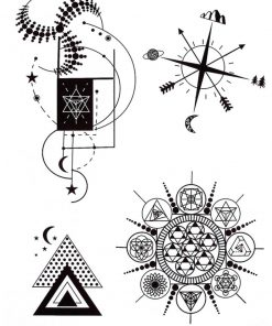 Simbolism Flash Tattoos Tatuaj temporar